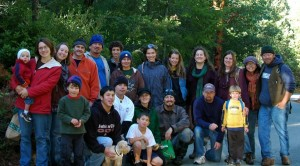 Karuk-UC Berkeley Collaborative members and supporters.  Photo by Lisa Liu.